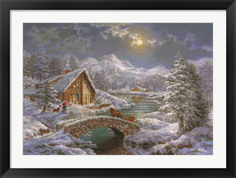Framed Natures Magical Season Print