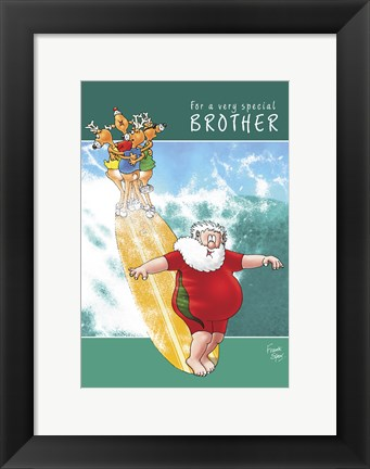 Framed Special Brother Print