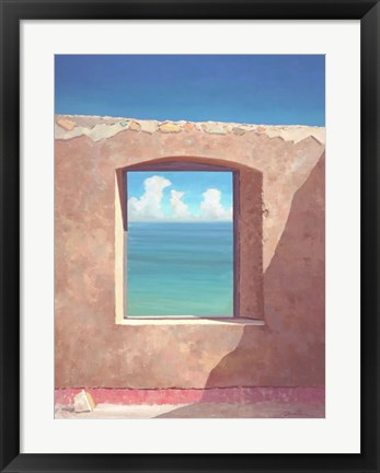 Framed Outside Looking Out Print