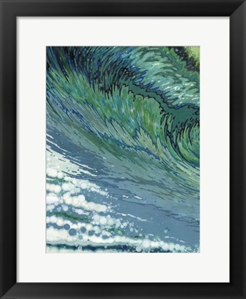 Framed Churning Print