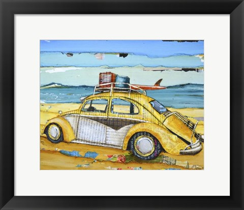 Framed Love Bug Print