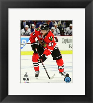 Framed Patrick Kane Game 4 of the 2015 Stanley Cup Finals Print