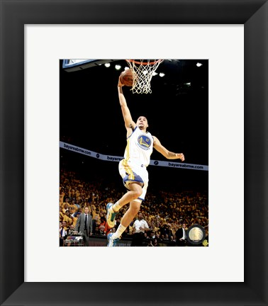 Framed Klay Thompson Game 5 of the 2015 NBA Finals Print