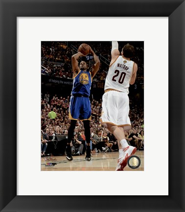 Framed Andre Iguodala Game 6 of the 2015 NBA Finals Print