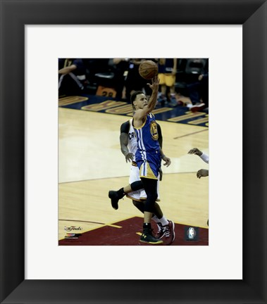 Framed Stephen Curry Game 6 of the 2015 NBA Finals Print