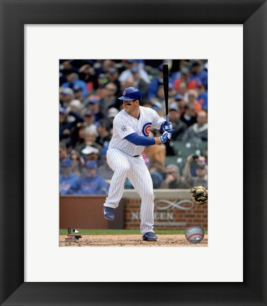 Framed Anthony Rizzo 2015 Action Print