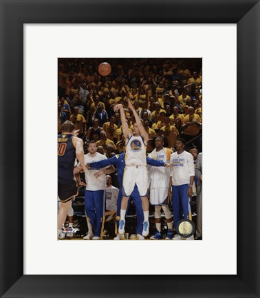 Framed Klay Thompson Game 1 of the 2015 NBA Finals Print