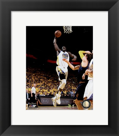 Framed Draymond Green Game 1 of the 2015 NBA Finals Print