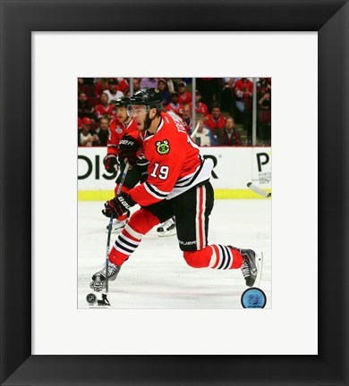 Framed Jonathan Toews Game 3 of the 2015 Stanley Cup Finals Print