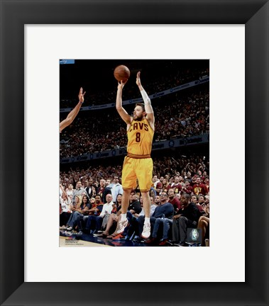 Framed Matthew Dellavedova Game 3 of the 2015 NBA Finals Print