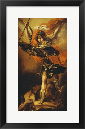 Framed Saint Michael Print