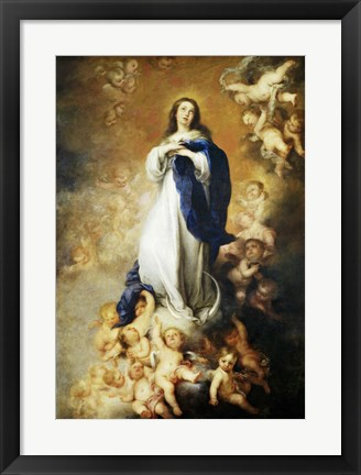 Framed Immaculate Conception of Soult Print