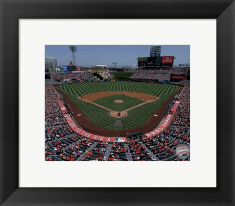 Framed Angel Stadium of Anaheim 2015 Print