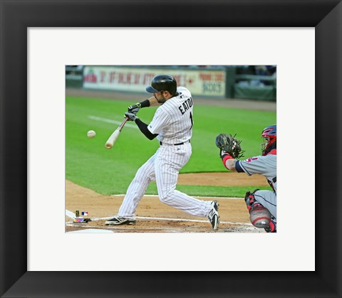 Framed Adam Eaton 2015 Action Print