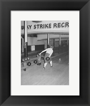 Framed Lucky Strike Print