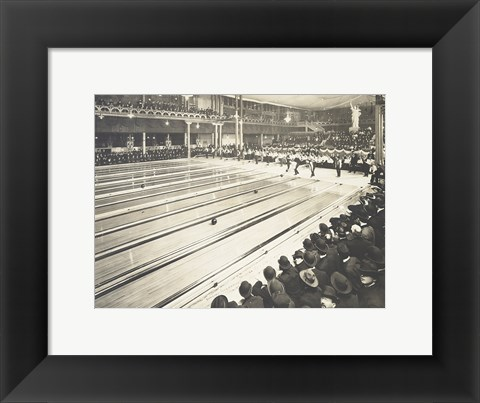 Framed American Bowling Congress, Bowling Tournament, Milwaukee, Wisconsin Print