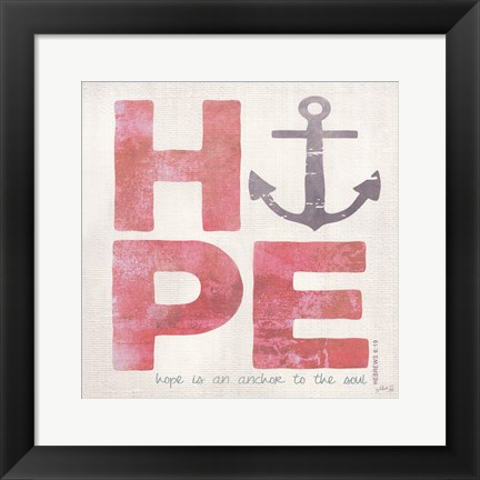 Framed Hope Print