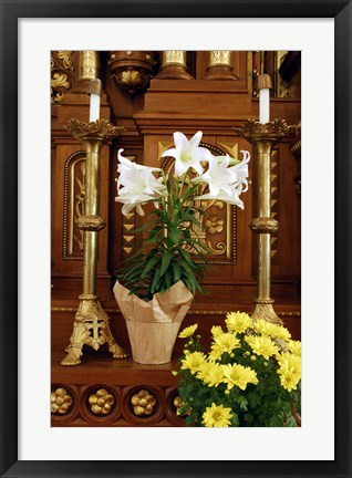 Framed Easter Altar Print