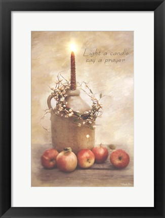 Framed Say a Prayer Print