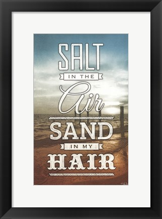 Framed Salt and Sand Print