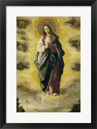 Framed Immaculate Conception, 1630-1635 Print