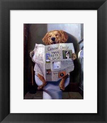 Dog Gone Funny Artwork By Lucia Heffernan At Framedart Com