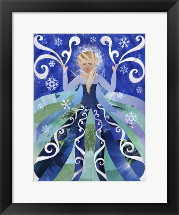 Framed Ice Queen Print