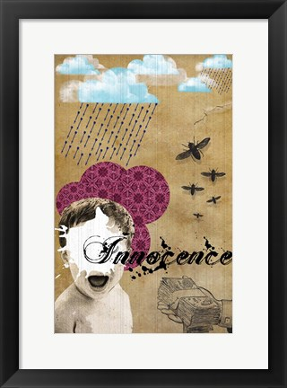 Framed Innocence Print