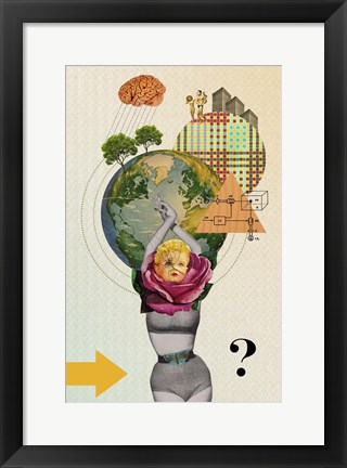 Framed Mother Nature Print