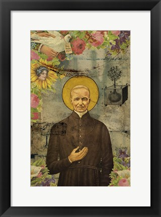Framed Holy Father Print