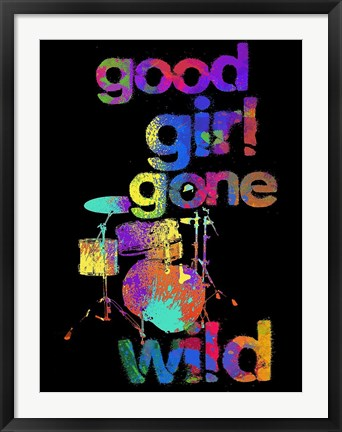 Framed Good Girls Gone Wild Stix Print
