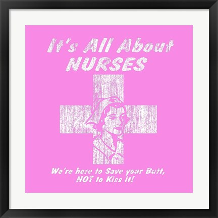Framed Nurses Print