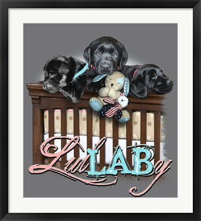 Framed Lullaby Print