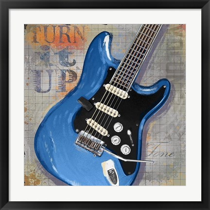 Framed Turn it Up Print
