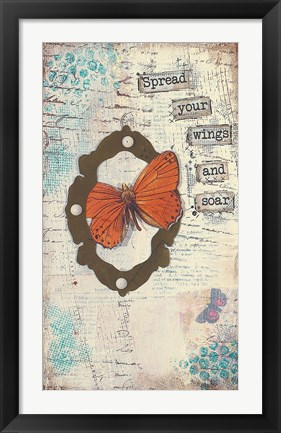 Framed Spread Your Wings Print