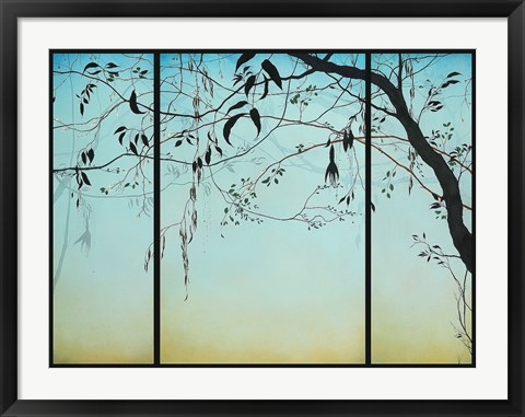 Framed Blue Twilight Print