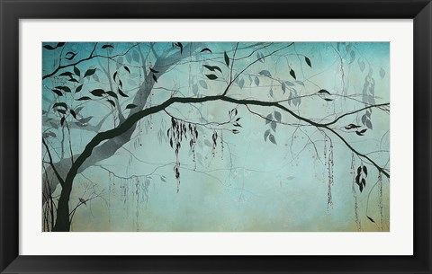 Framed Forest Mist Print