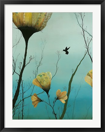 Framed Hummingbird 2012 Print