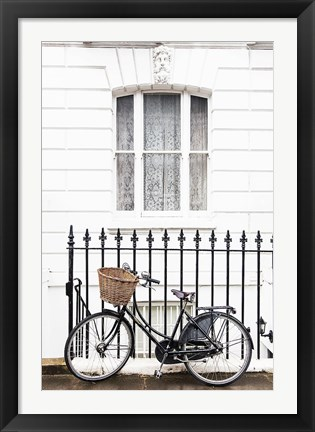 Framed London Bicycle Print