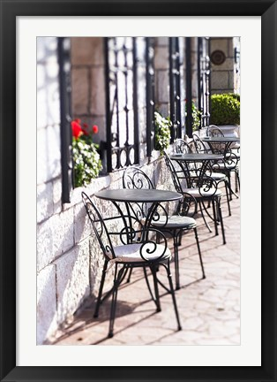 Framed Table for Two, Grand Canal, Venice Print