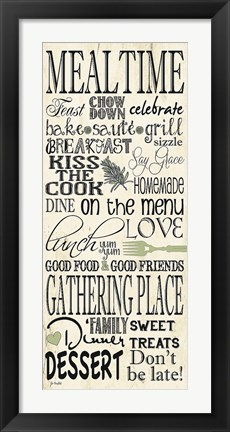 Framed Meal Time Print