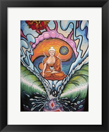 Framed Buddha Dream Print