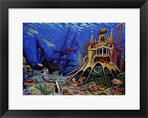 Framed Underwater World Print