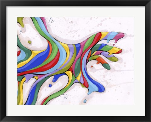 Framed Reaching Out To You Print