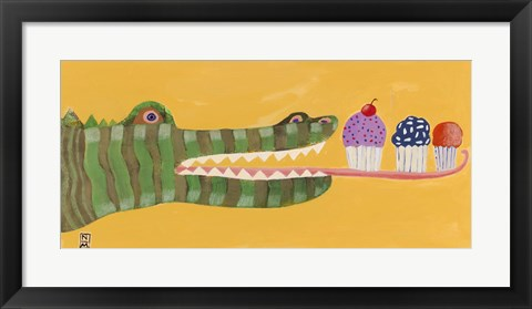 Framed Sweet Tooth Print