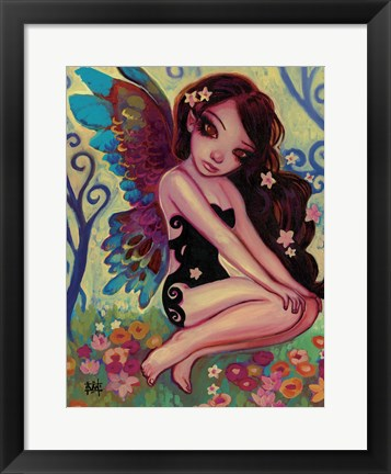 Framed Rainbow Angel Print