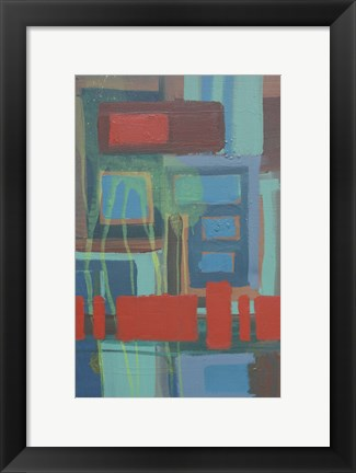 Framed Abstract 6 Print
