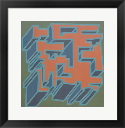 Framed Abstract 8 Print