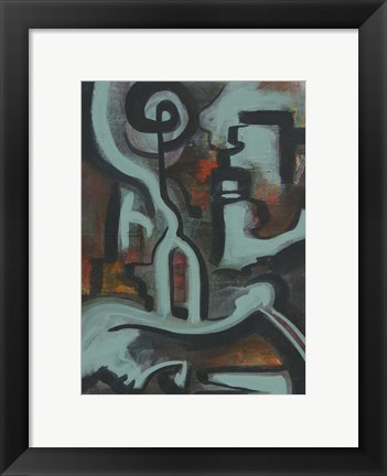 Framed Abstract 13 Print