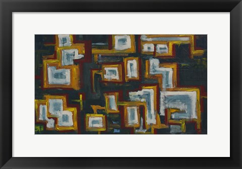 Framed Abstract 14 Print